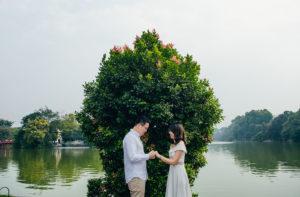 chụp ảnh cưới nghệ thuật ở Hà Nội