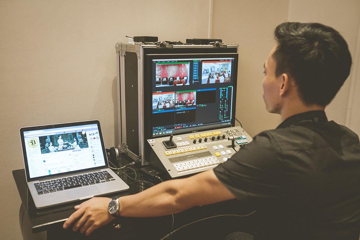 dịch vụ livestream chuyên nghiệp
