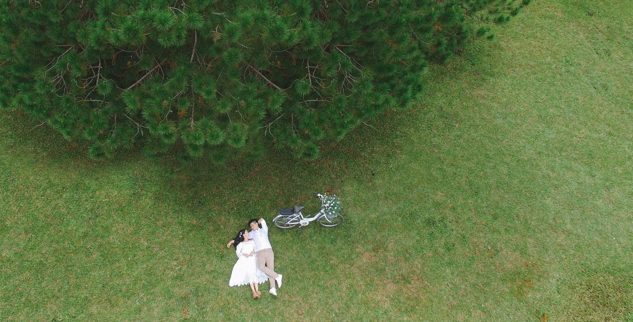chụp ảnh cưới ở Đà Lạt
