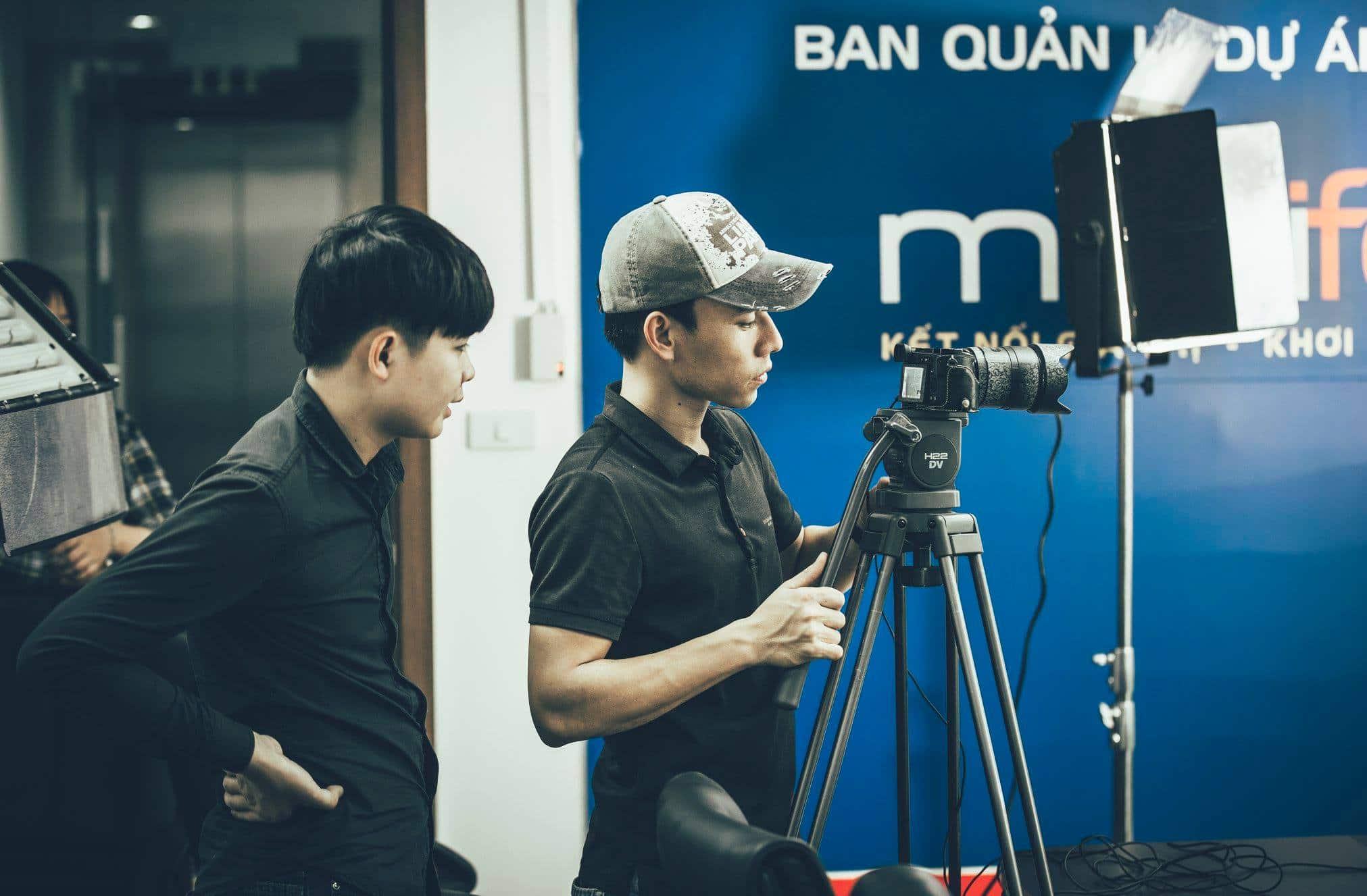 dịch vụ quay phim giá rẻ