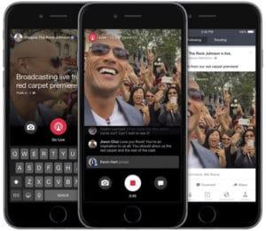 livestream sự kiện trên facebook bằng điện thoại