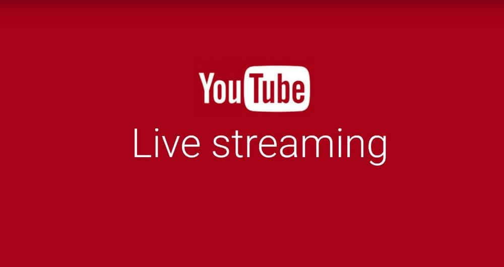 livestream sự kiện trên Youtube