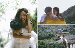 tạo dáng chụp ảnh cưới tự nhiên