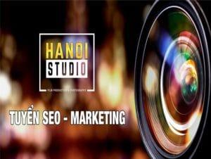 Hanoistudio tuyển dụng nhân sự Seo